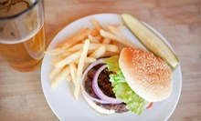 Burgers, Fries, and Beers for Two or Four at Mulligans Irish Pub & Grill (Up to 53% Off)