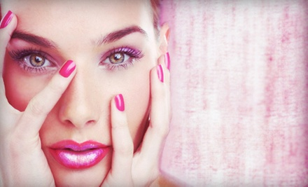 Shellac Manicure, Eyebrow Shaping, or Both at Styles by SD (Up to 58% Off)