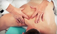 One or Three Therapeutic, Swedish, or Deep-Tissue Massages with Spine Analysis at Brownlie Chiropractic (Up to 83% Off)