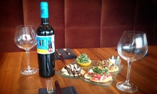 $19 for One Bottle of Wine and a Crostini Trio at Indulge Bistro and Wine Bar (Up to $39.95 Value)