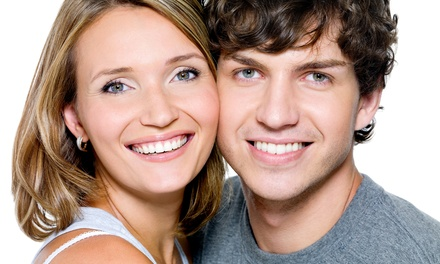 One or Two Blue-LED Teeth-Whitening Treatments at White Smile BC (Up to 59% Off)
