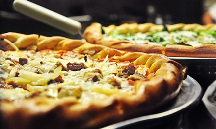 Pizza and Italian Cuisine at Moonlight Pizza Company (Up to 42% Off). Two Options Available.