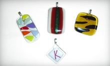 Girls Night Out BYOB Glass-Fusion Jewelry-Making Class for Two or Four at Adventure in Art (Up to 51% Off)