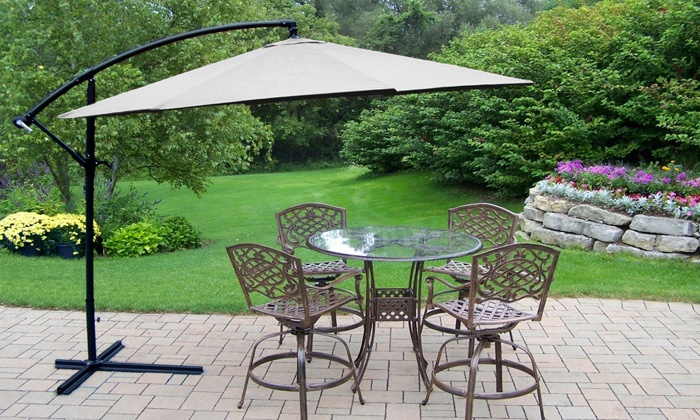 Groupon Goods: Fine Living Cantilever Umbrella for R1 199.99 Including Delivery (40% Off)