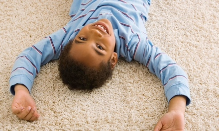 $49 for Carpet Cleaning for Two Rooms from ServiceMaster by A-Town Hi-Tech ($98 Value)