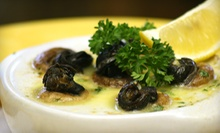 French Cuisine at Pamplemousse Le Restaurant (Half Off). Two Options Available.