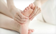 One, Three, or Five Reflexology Treatments with Foot Soak and Aromatherapy at Body Essence &amp; Energy (Up to 73% Off)