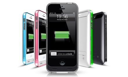 Mota Apple-Certified Battery Case for iPhone 5/5s