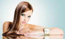 Haircut, Style, and Conditioning with Options for Color or Partial Highlights or Lowlights at Salon Blu (Up to 56% Off)