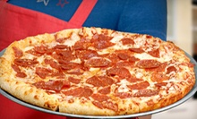 Pizza and Fountain Drinks for Two or Four at Zunis House of Pizza (Up to 58% Off)