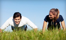 Four-Week Outdoor Boot Camp for One or Two from J Nichols Fitness (Up to 77% Off)