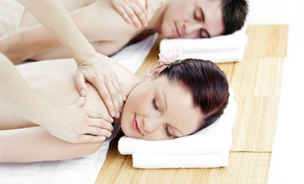 Couples Massage Package or Solo Spa Package with Massage and Facial at Ahh Spa (Up to 66% Off)