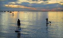 $39 for a Beginner or Advanced Standup-Paddleboard Lesson for Two at Koha Yoga ($90 Value)