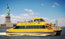Harbor Boat Ride for One, Three, or Six from New York Water Taxi (Up to 55% Off)