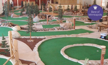 Mini Golf and Drinks for Two, Four, Six, or Eight at GolfZone (Up to 52% Off)