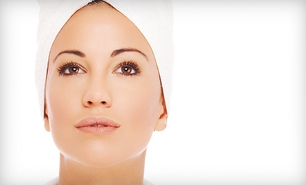 One or Three Microcurrent Face-Lifts at Advanced Healthcare Center (Up to 66% Off)