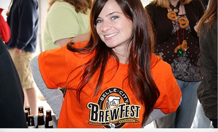 $20 for One Admission to Belle City Brewfest at Racine Civic Centre on Saturday, May 11 at 2 p.m. (Up to $47.70 Value)