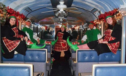 Christmas Train Ride for One from Sacramento RiverTrain (40% Off). 11 Options Available.