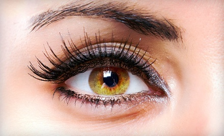 One Set of Eyelash Extensions with Option for One or Two Touchup Visits at Plush Style Lounge (Up to 54% Off)