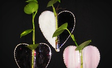 $45 for a Stained-Glass Valentine Heart Class and Project Book at Glass Addicts ($102.95 Value)