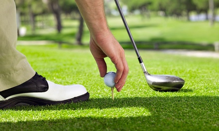 18-Hole Round of Golf for Two or Four Including Cart and Range Balls at National Sports Center (Up to 55% Off)