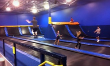 $12 for Two 60-Minute Indoor Trampoline-Park Visits at Cosmic Jump (Up to $24 Value)