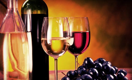$32 for a Wine Tasting with Souvenir Glasses and Custom Bottle Labels for Two at D&#x27;Vine Wine (Up to $64 Value)