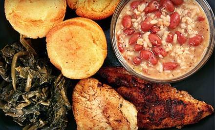 Cajun Meal with Appetizer and Entree for Two or Four at Bite Your Tongue (Up to 59% Off)
