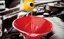 Oil Change and Car Wash or Full Detailing for a Car, Truck, or SUV at Castrol Premium Lube Express (Up to 63% Off)