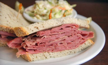 Deli and Diner Food at Fromin's Delicatessen & Restaurant (Up to 47% Off). Two Options Available.