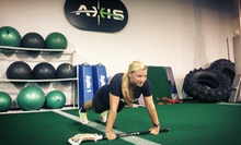 4, 8, or 12 Morning Boot-Camp Sessions at Axis Sport (Up to 72% Off)