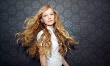 Womens Shampoo, Haircut, and Style with Optional Partial Highlights at Salon 22 (57% Off)