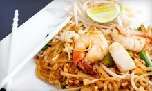$10 for $20 Worth of Thai Cuisine for Dinner at TC Thai Cafe