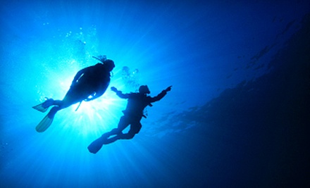 $169 for an Open-Water Scuba-Certification Course at Scubafy Dive Center ($358.95 Value)