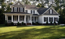 $39 for One Lawn-Aeration Session with Moss and Weed Control and Fertilizer from Blades of Glory ($189 Value)