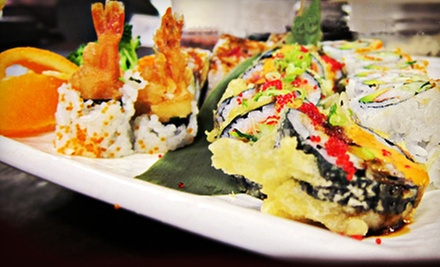 Sushi and Asian Food at Fulin's Asian Cuisine (Half Off). Three Options Available.