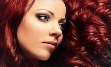 Haircut with Optional Coloring or Keratin Treatment at Passions for Hair & Spa (Up to 67% Off)