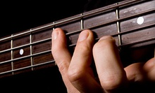 4, 8, or 12 Private 30-Minute Guitar, Bass, Piano, Drum, or Voice Lessons at Matt's Music Center (Up to 62% Off)