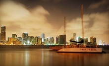 $35 for a 2.5-Hour Sunset Cruise with Snacks and Drinks from Playtime Watersports ($75 Value)