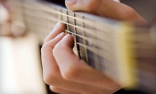 $49 for One Month of Weekly Guitar Lessons at Lincoln School of Music ($100 Value)