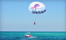 $39 for a One Seat in a Double Parasail from Flamingo Parasail ($80 Value)