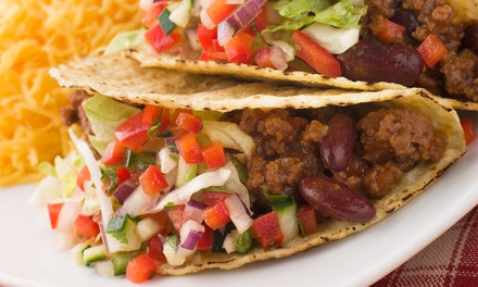 Authentic Mexican Dinner for Two or Four at Anita's Mexican Bar & Grill (Up to 54% Off)