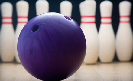 $24 for Two Games of Bowling and Shoe Rental for Up to Five People at Pin Chasers (Up to $59.90 Value)