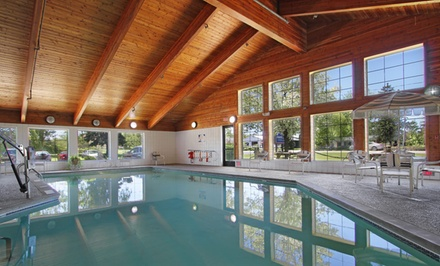 groupon daily deal - Stay at AmericInn Lodge & Suites Saugatuck in Douglas, MI. Dates into July.