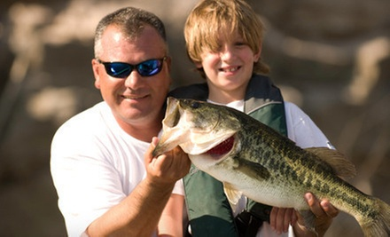 Four-Hour Group Sonoran Bass Adventure Chartered Fishing Trip for One or Two (at The Hook Up Outfitters (Up to 57% Off)