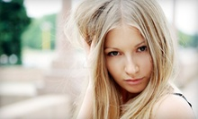 Haircut with Conditioning, Color, or Highlights, or a Hair-Smoothing Treatment at Solace Salon & Spa (Up to 62% Off)