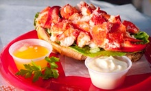 Seafood, Sandwiches, Wraps, Lobster Rolls and More at Cafe Heavenly (Up to 53% Off)