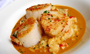 Mediterranean-american Cuisine With French Twist For Two Or Four At Pier701 Restaurant & Bar (up To 49% Off)