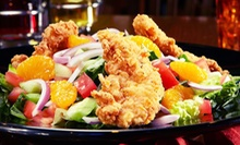 Pub Food and Drinks at Tilted Kilt (Up to 56% Off). Three Options Available.