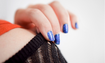 Classic or Margarita Mani-Pedi at Permanent Great Looks Salon & Spa (Up to 51% Off)